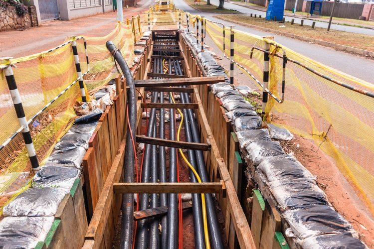 Urban Underground Utility Work
